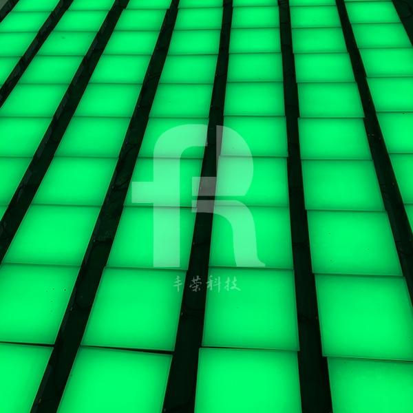 重力感应地砖灯的介绍与部件说明