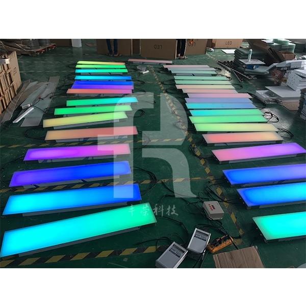 感应地砖灯为公园美化步行街装饰照明等场所增添光彩