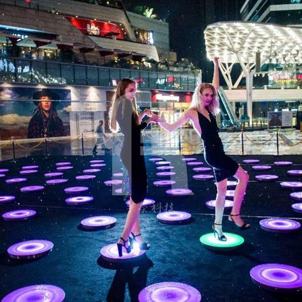 照明控制系统能自动增加led地砖灯的亮度