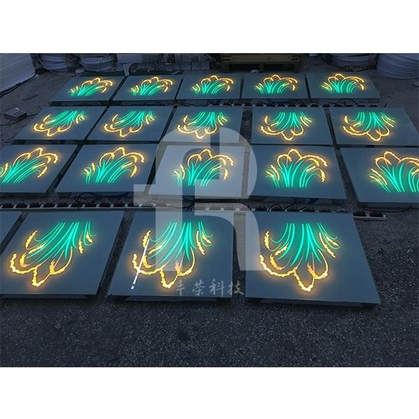 led地砖灯是一种新型高级环保照明装饰灯具