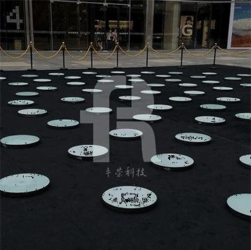 地砖灯关键分三种,正方形地砖灯,环形地砖灯,条型地砖灯