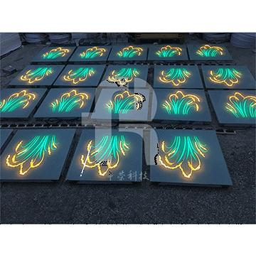 感应地砖灯制造商的感应线圈落地式小台灯