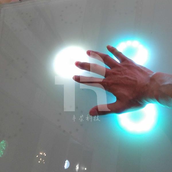 感应地砖灯
